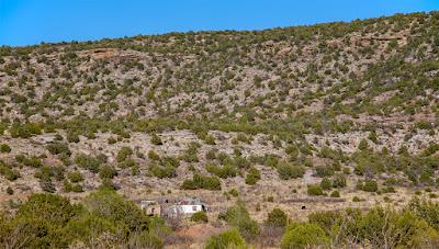 abandoned house Trementina New Mexico