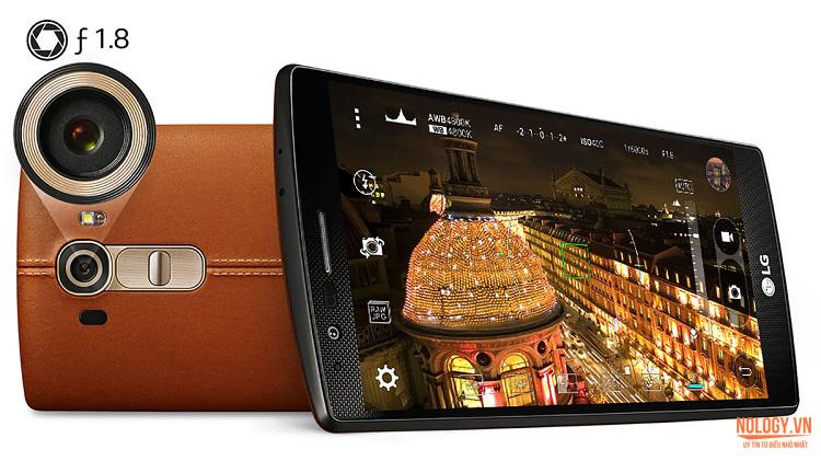 Camera khủng của LG G4 Hàn Quốc