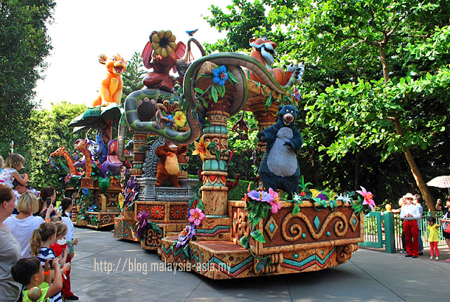 Parade at Hong Kong Disneyland