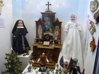 Juguetes religiosos del Museo del Juguete.