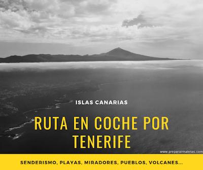 ruta en coche por Tenerife