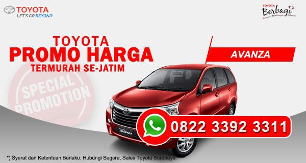 Promo Harga Toyota Avanza Surabaya