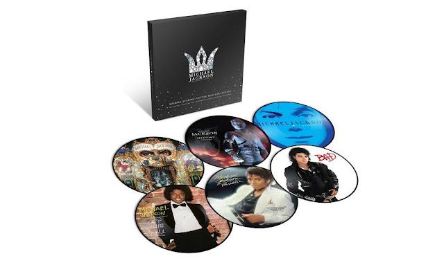 Espólio de Michael Jackson celebra o legado do Rei do Pop com lançamento de uma coleção em vinil.