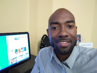 Brandon Richard, author of I AM GREAT BECAUSE I BELIEVED IT FIRST.