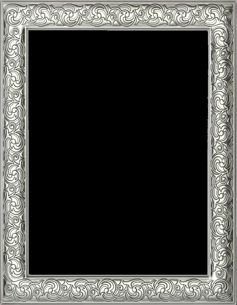 Mi cofre de photoshop marcos plateados para tus fotos png - Marco fotos pared ...