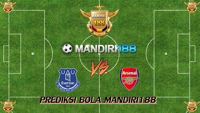 AGEN BOLA - Prediksi Everton vs Arsenal 22 Oktober 2017