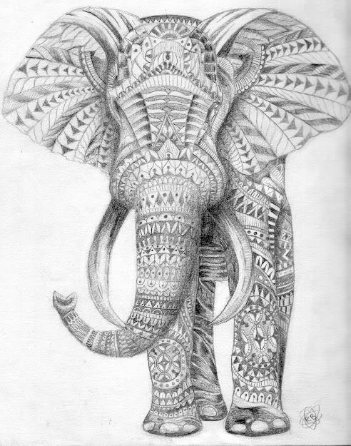 Mandala Elephant Coloring Pages With Afdbdeedacefdde