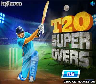 Online T20 Super Overs Game