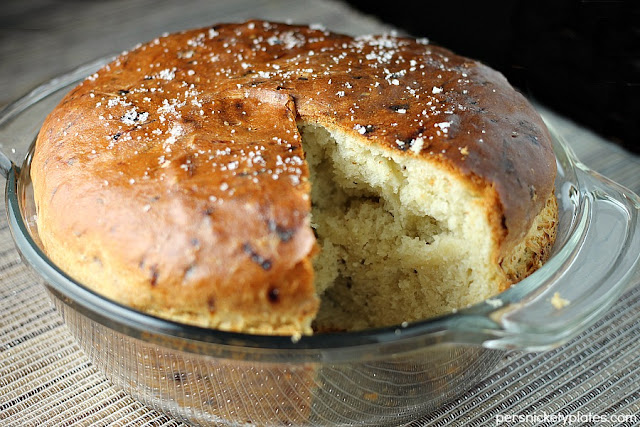 Onion Dill Bread by Persnickety Plates