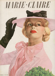 Marie Clarie,vintage fashion,art,makeup,retro style,