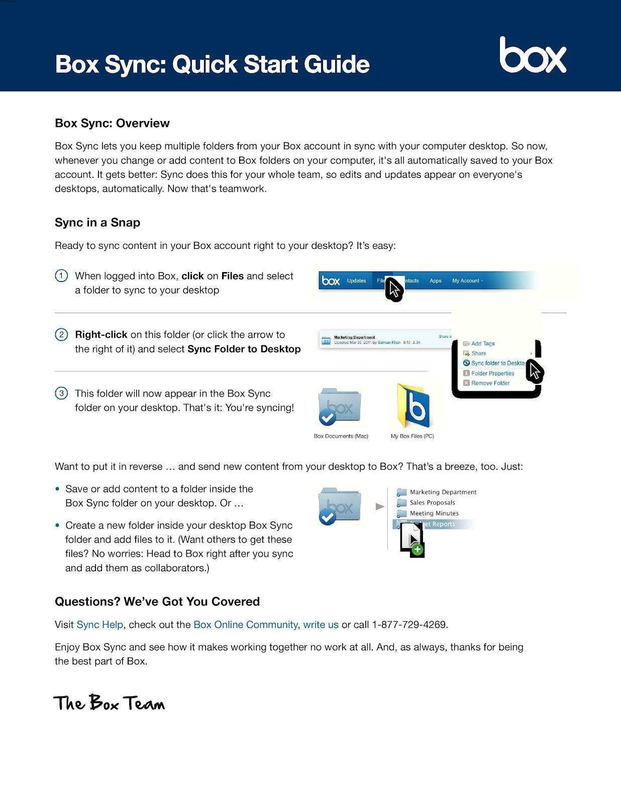 KnowCrazy com: Box Sync: Quick Start Guide