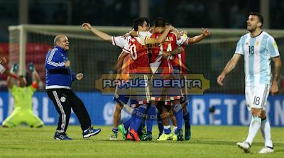 Argentina Kalah Dengan Paraguay 0-1 (Messi Sedang Absen)