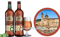 Logo Con Birrificio Angelo Poretti 8 Luppoli vinci 8 weekend per 2 persone con degustazione