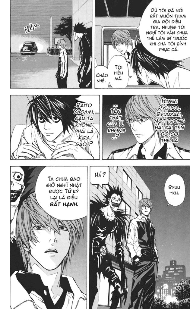 Death Note chapter 022 trang 19