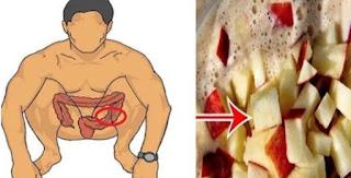 limpiar el colon con manzana