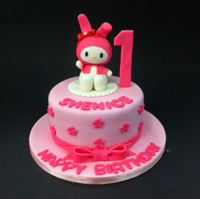 My Melody Birthday Cake Images