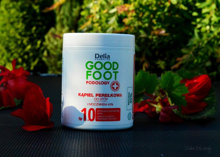 Delia Good Foot Podology Kąpiel perełkowa do stóp z mocznikiem 45%