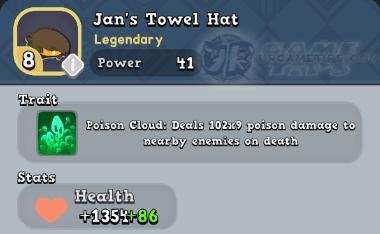World of Legends: Jan's Towel Hat