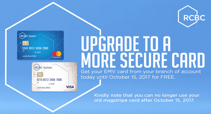 RCBC's EMV Upgrade is in Full Swing