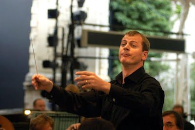 Stuart Stratford conducting Tchaikovsky's Eugene Onegin at Opera Holland Park, 2005