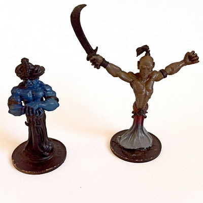 Ral Partha (ES69) Djinn (left) and Efreet (right)