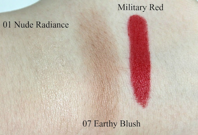Burberry Make Up Swatches