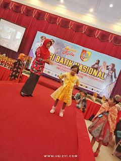 Fashion Show Anak Luar Biasa Hari Batik 2018