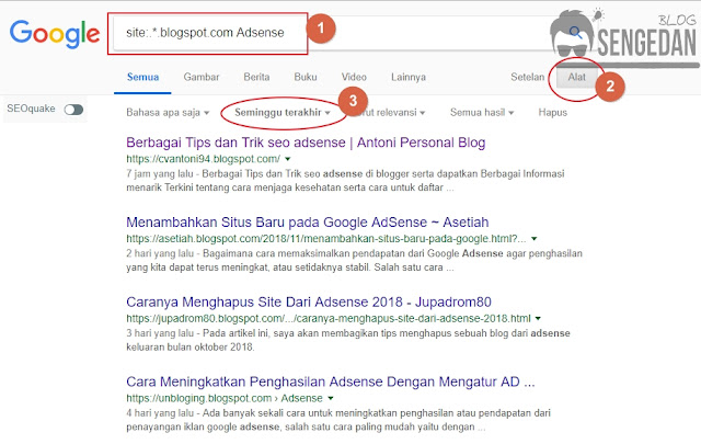 Cara Mencari Blog Orang Lain untuk Blog Walking
