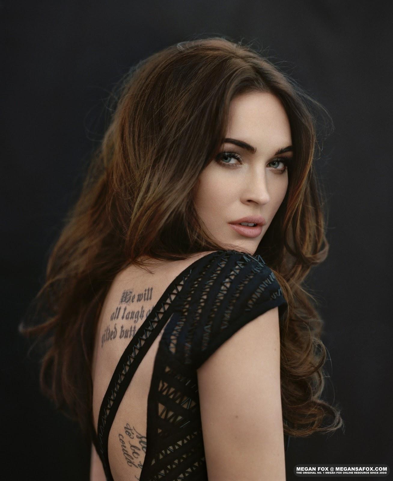 Megan Fox: Art 4 Logic: Megan Fox Cosmopolitan April 2012 Outtakes