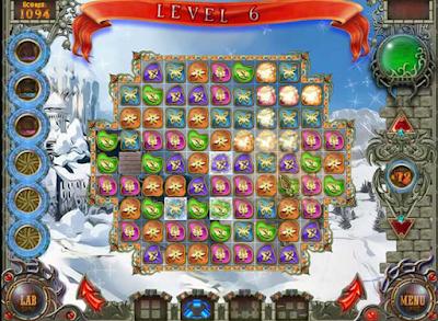 霜凍帝國,好玩的童話消除類型遊戲!