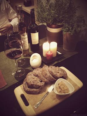 燭光晚餐 情人節大餐 食譜 自己做 麵包抹醬