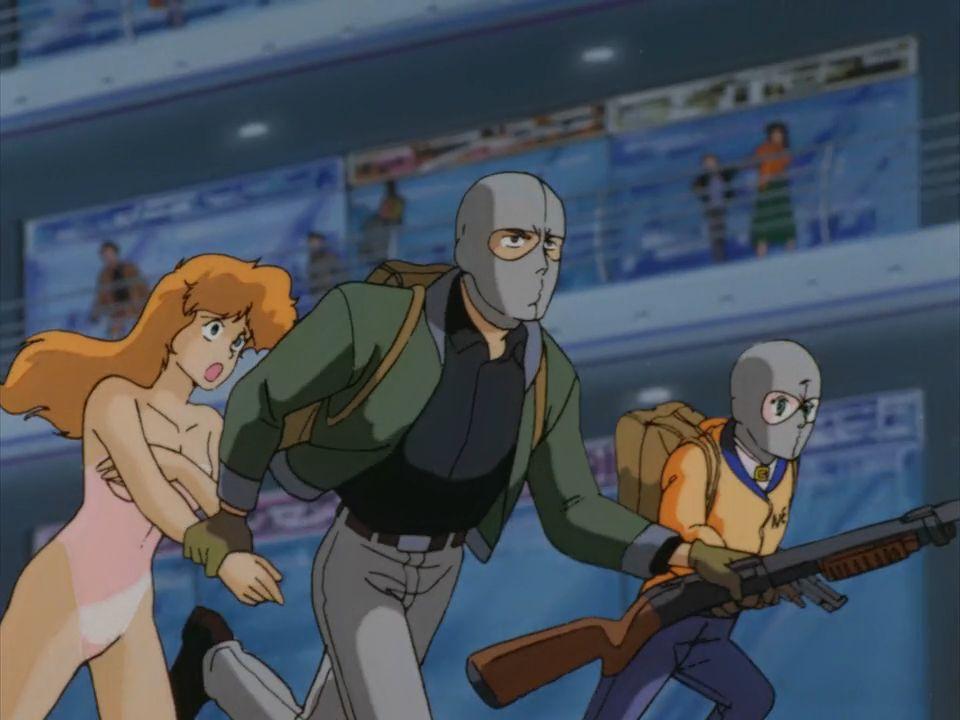 Riding Bean 1989 [Jap/Sub-Esp] [Anime] [Ova] [MEGA]