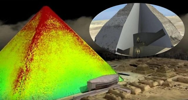 Ground breaking 3D images show hidden tunnels deep inside ancient Egyptian Pyramid  Egypt%2Bpyramid%2Bancient%2Bhistory