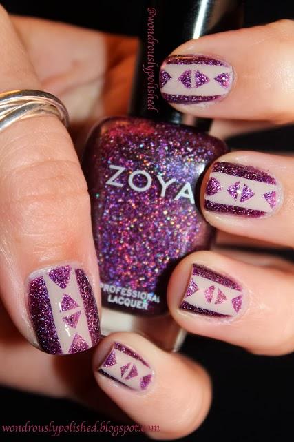 Wondrously Polished April Nail Art Challenge: Wondrously Polished: Wondrously Polished Is One