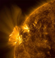 Cascading Post-coronal Loops