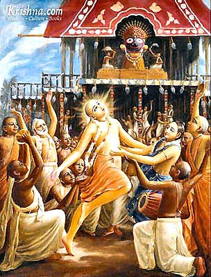 Five hundred years ago, Lord Caitanya Mahaprabhu went to live at Jagannatha Puri after taking sannyasa