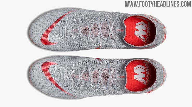 04f2fcc2b53d Silver Nike Mercurial Superfly 360  Raised on Concrete  2018-2019 ...
