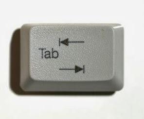tabulasi, pengertian tabulasi, kegunaan tabulasi, keyboard komputer, cara menggunakan tabulasi