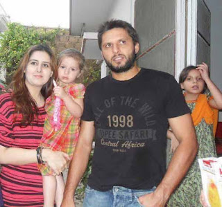 Shahid Afridi's life partner