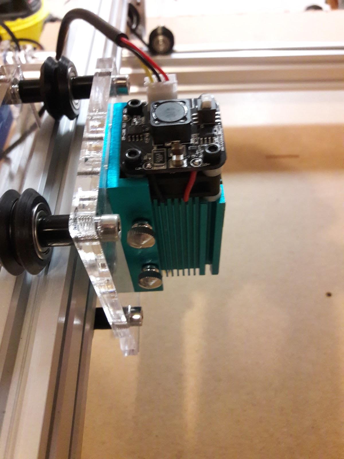 Arnes Elektronik und DIY Seite: Laserschneiden /-gravieren mit dem