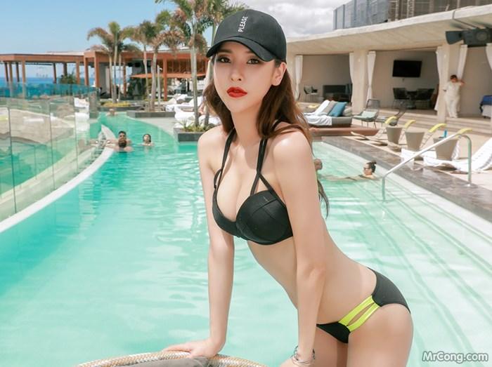 Image Park-Da-Hyun-MrCong.com-020 in post Bộ ảnh thời trang biển rực cháy quyến rũ của người đẹp Park Da Hyun (320 ảnh)