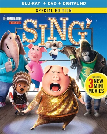 Sing 2016 Dual Audio ORG Hindi 720p BluRay 850mb