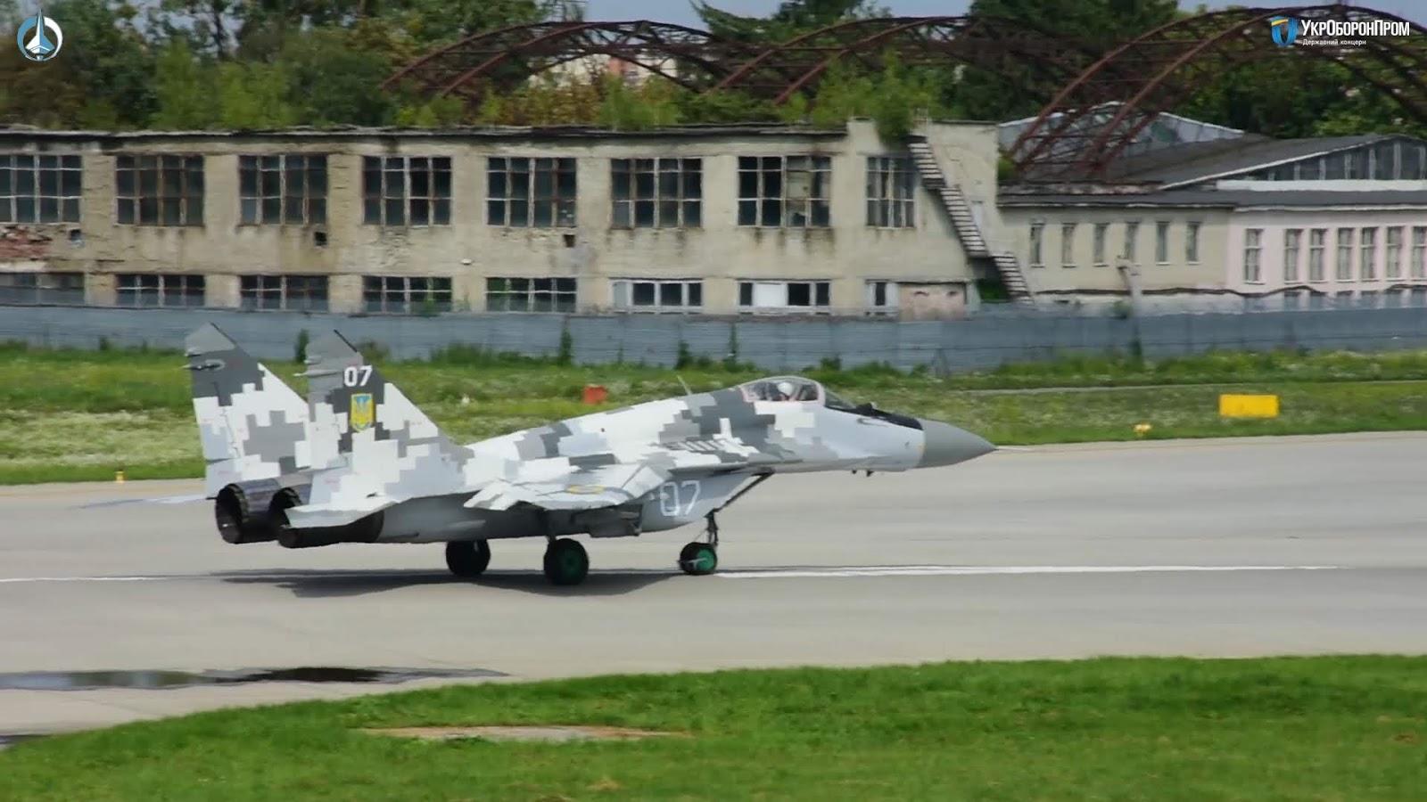 ЛДАРЗ передав ЗСУ два модернізованих винищувача МіГ-29МУ1