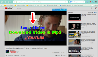 Cara Download Video Dan Mp3 Di Youtube