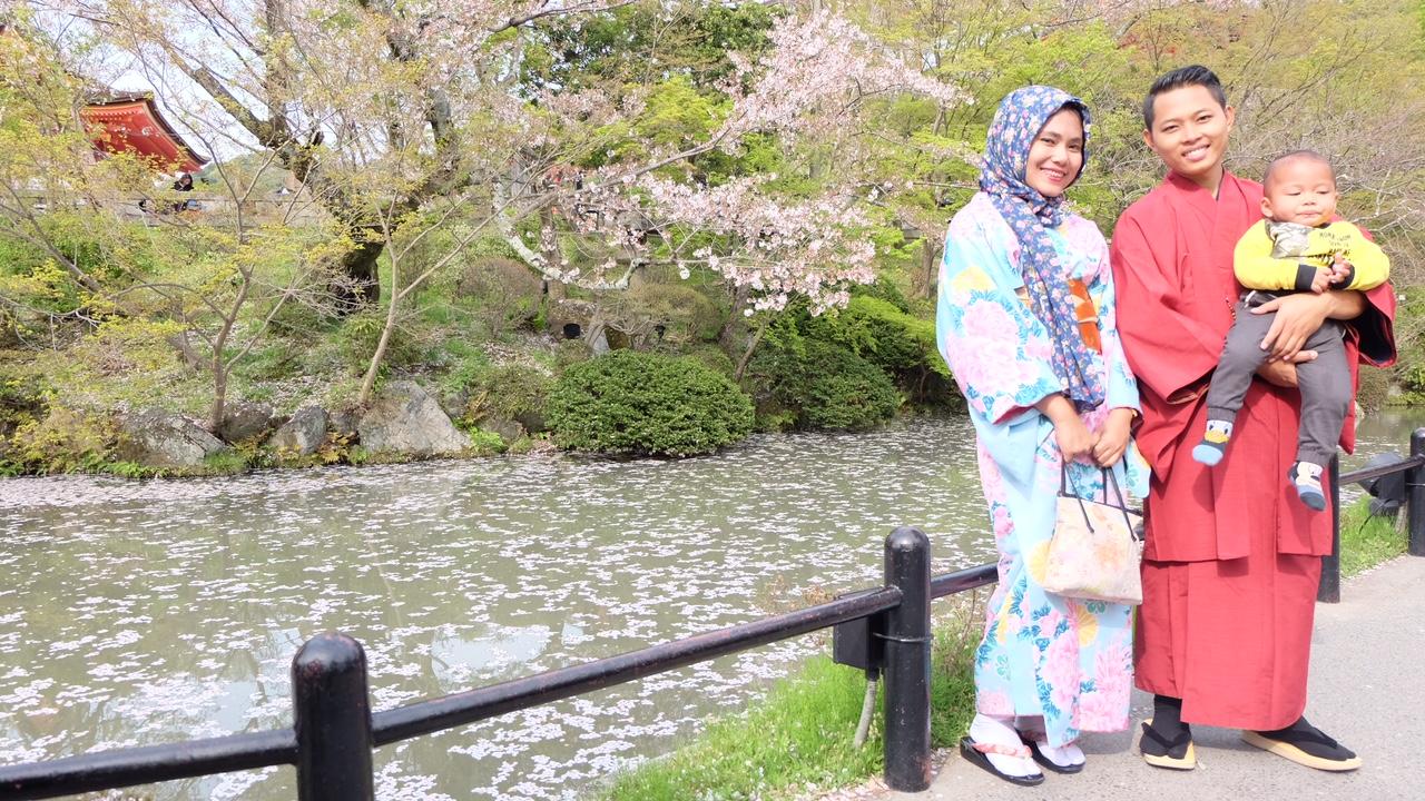 My Kyoto Story Kimono Day Kiyomizudera Arashiyama Bamboo Forest Anggun