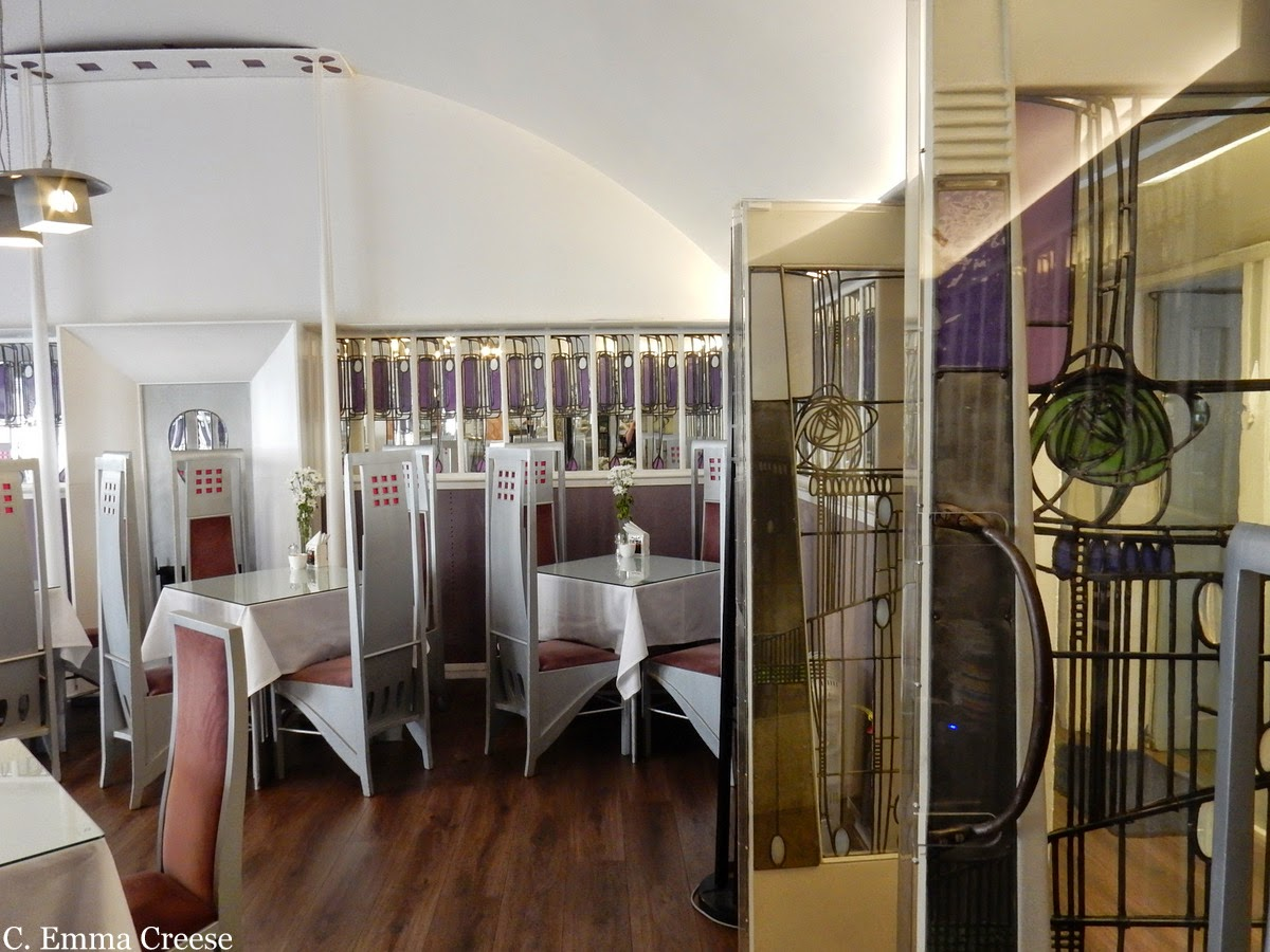 Willow Tea Rooms Art Deco Glasgow Mackintosh