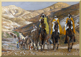 """The Magi Journeying"" -- by James Tissot"
