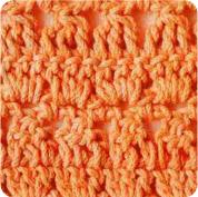 Puntada tupida a Crochet