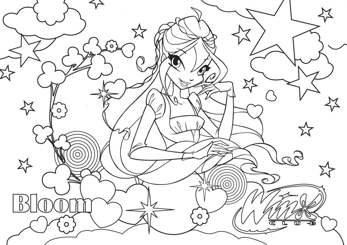 Colorear, ¡qué mágico relax! ~ My Winx Club-Pretty!*.