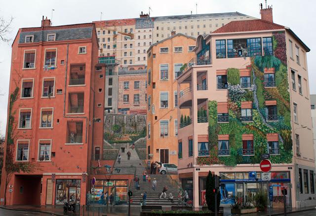 Passeios no Mur des Canuts de Lyon